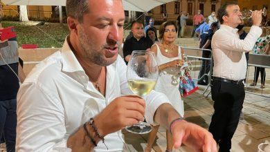 Salvini a Cosenza: «Vinceremo le Regionali» FOTOGALLERY
